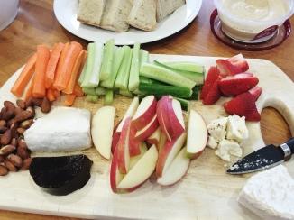 The third cheese board