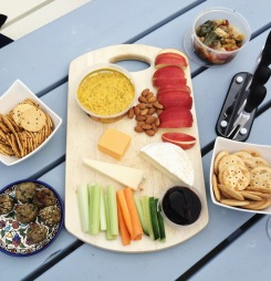 The first cheese board