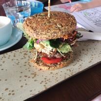 Protein Breakfast Burger