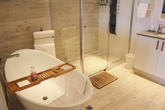 Stylish luxury bathroom at Swan Valley Retreat